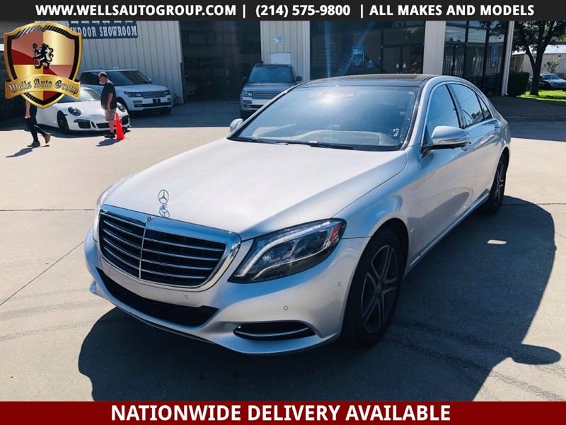2016 Mercedes-Benz S 550 S 550 4MATIC $108K MSRP
