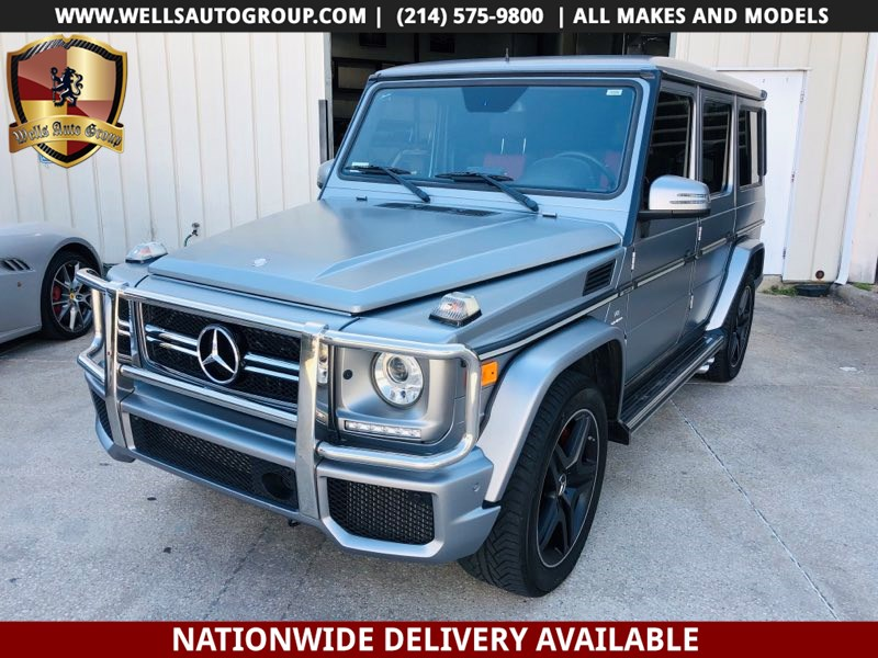 2013 Mercedes-Benz G 63 G 63 AMG // MATTE // RED INTR