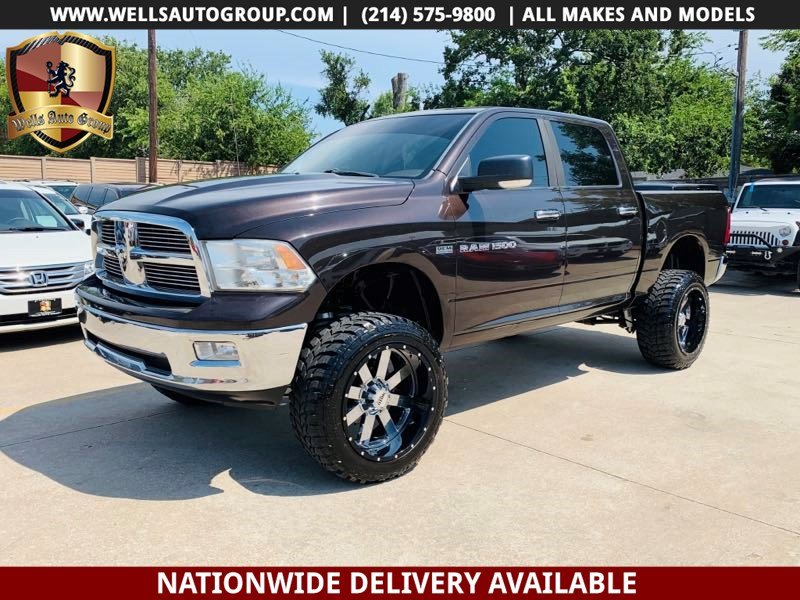 Lifted Ram 1500 >> 2011 Ram 1500 Big Horn 4x4 Lifted Tires Wells Auto Group
