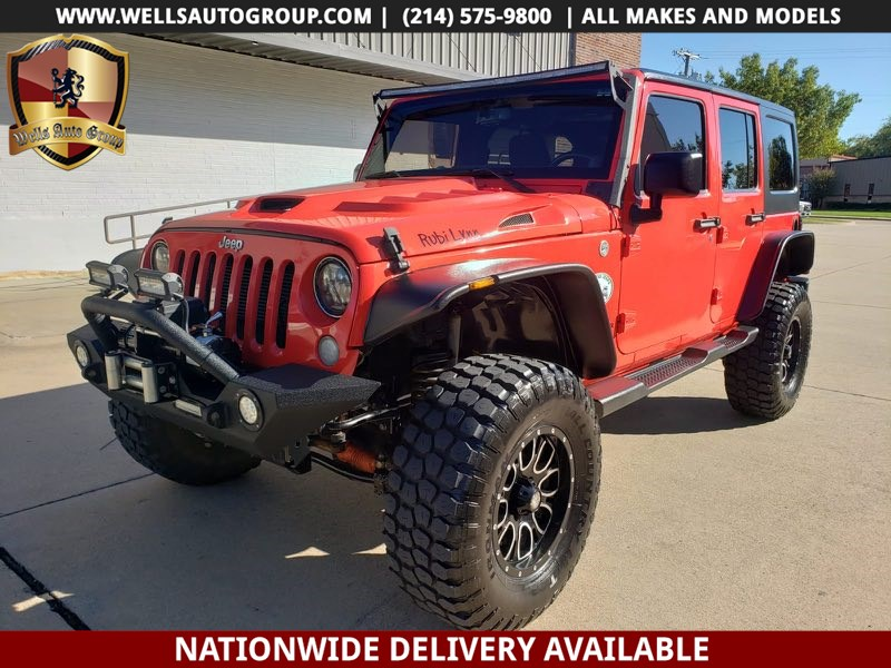 2013 Jeep Wrangler Unlimited Rubicon | 4X4| LIFTED | LED | HOOD |UPGRADES