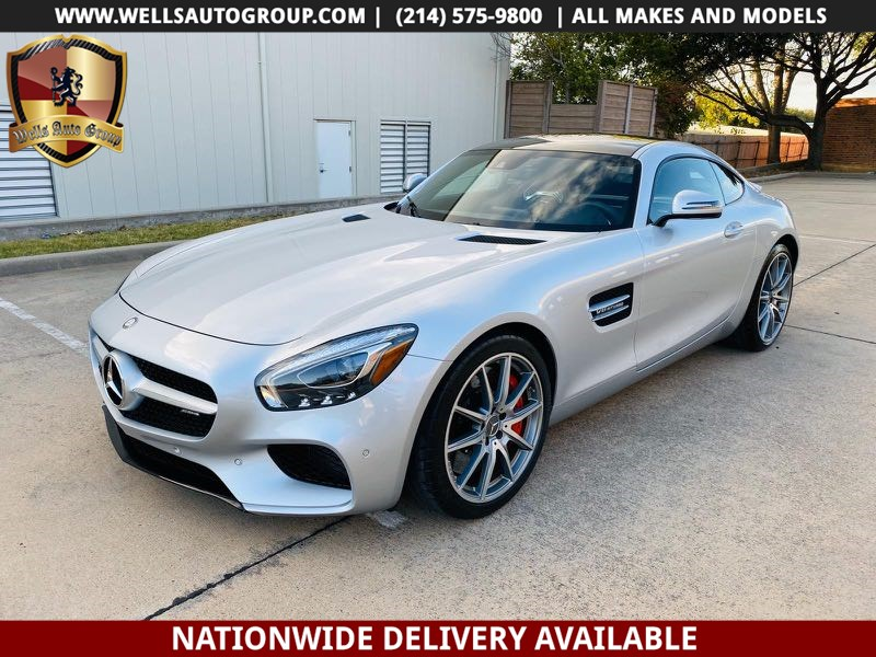 2016 Mercedes-Benz GT S | GLASS ROOF | RED STICHHING| AMG| HGH MSRP