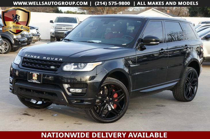 2015 Land Rover Range Rover Sport Autobiography | RED INTR