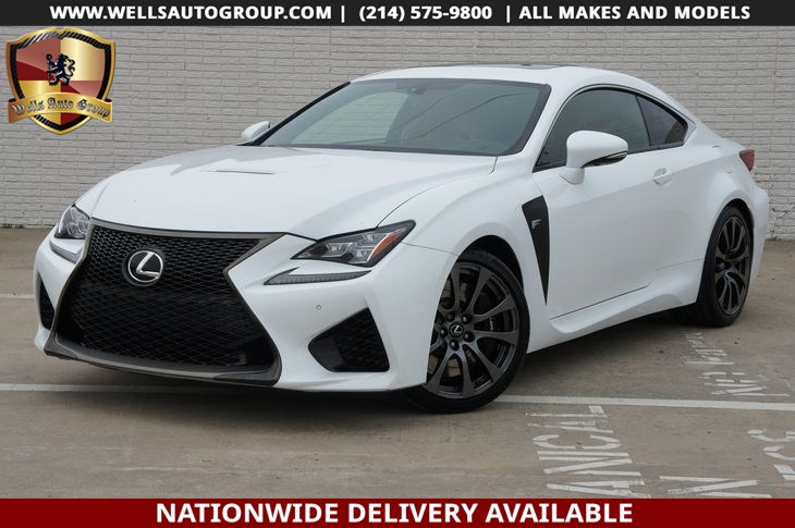 2015 Lexus RC F RED INTR | CRBN FIBER | NAVI | LTHR | LOADED