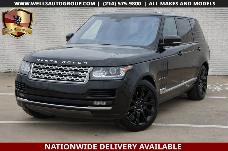 2016 Land Rover Range Rover Supercharged LWB | REAR ENT | LOADED