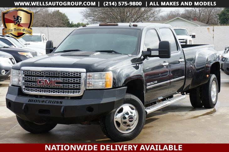 2012 GMC Sierra 3500HD Denali | DUALLY | 4X4 | LTHR | NAVI | LOADED
