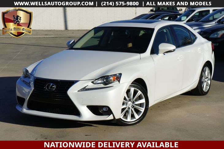 2016 Lexus IS 200t SNRF| LTHR | LOADED