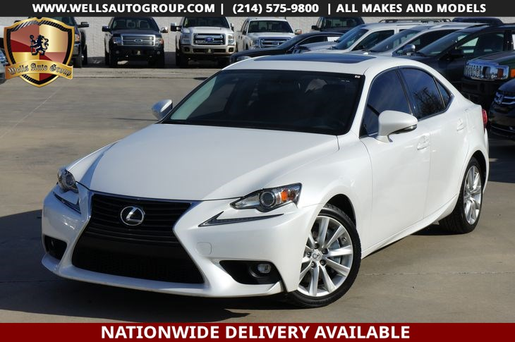 2016 Lexus IS 200t LTHR | SNRF | LOADED