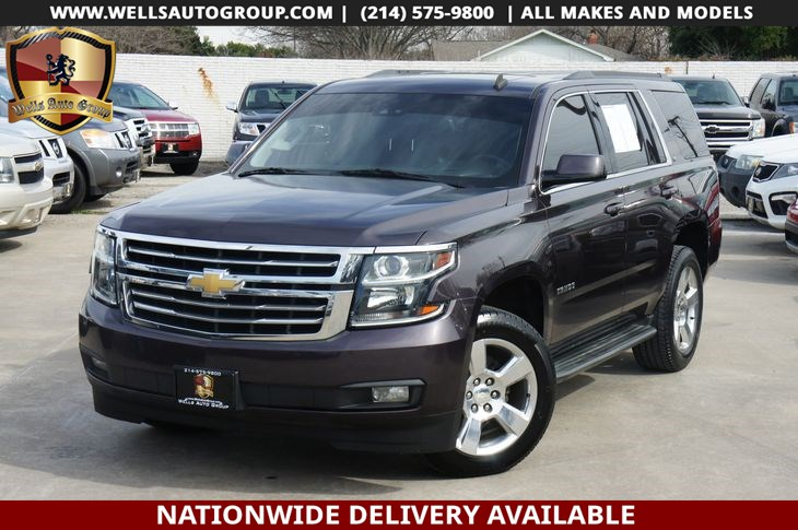 2015 Chevrolet Tahoe LT | SNRF| LTHR| NAVI| DVD | LOADED