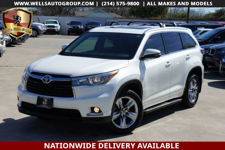 2015 Toyota Highlander Limited | LTHR| SNRF| NAVI | LOADED