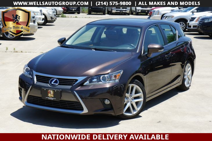 2015 Lexus CT 200h LTHR/SNRF/LOADED