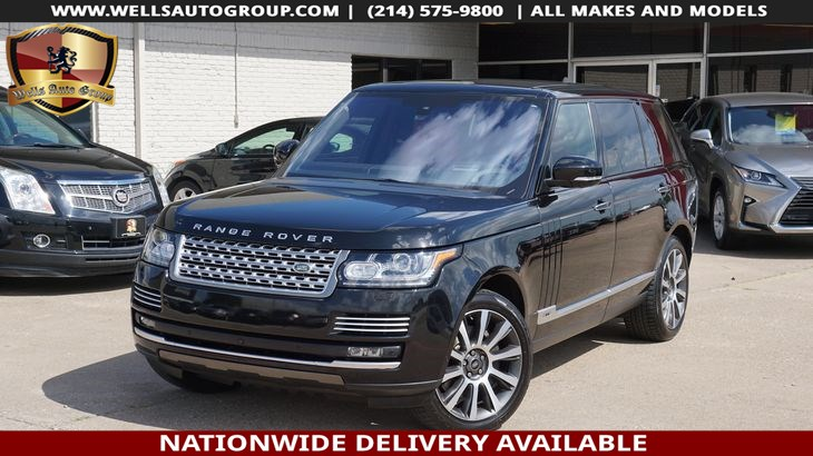 2016 Land Rover Range Rover Autobiography LWB | EXECUTIVE PKG| DVD| EVERY OPT