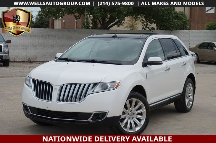 2014 Lincoln MKX NAVI| LTHR| PANO| LOADED
