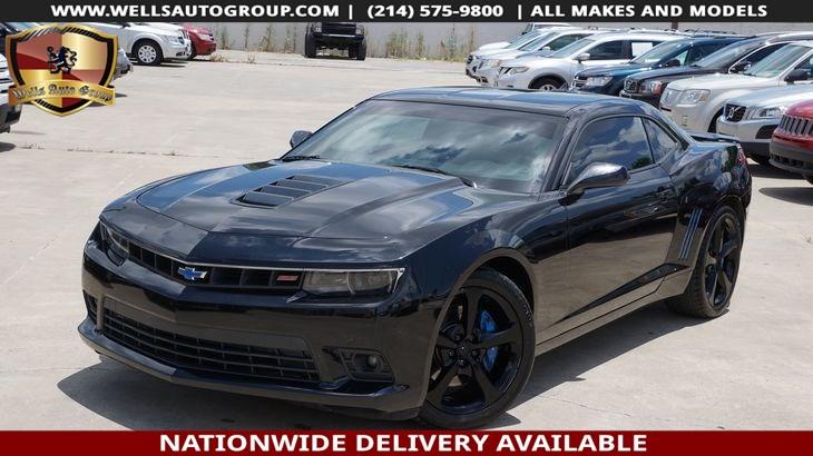 Sold 2014 Chevrolet Camaro Ss In Mckinney