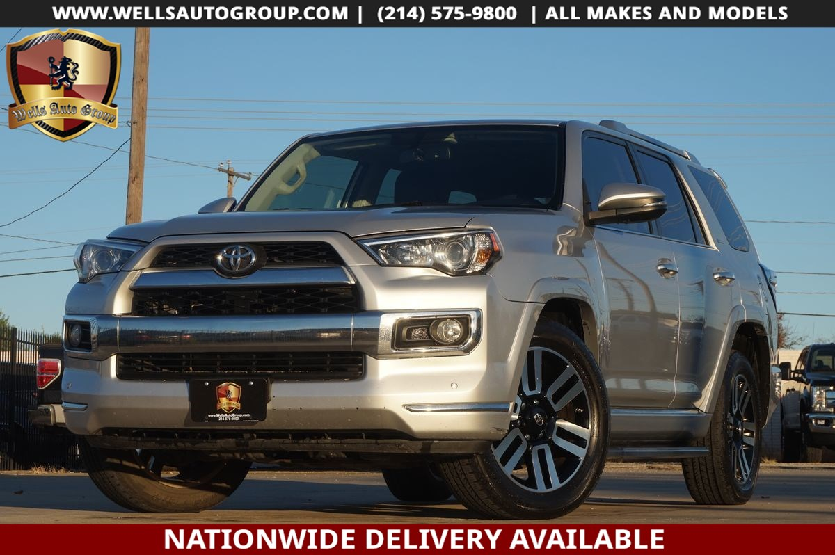 2015 Toyota 4Runner LIMITED | SUNROOF | NAV | LTHR | HTD STS | RUN BRS