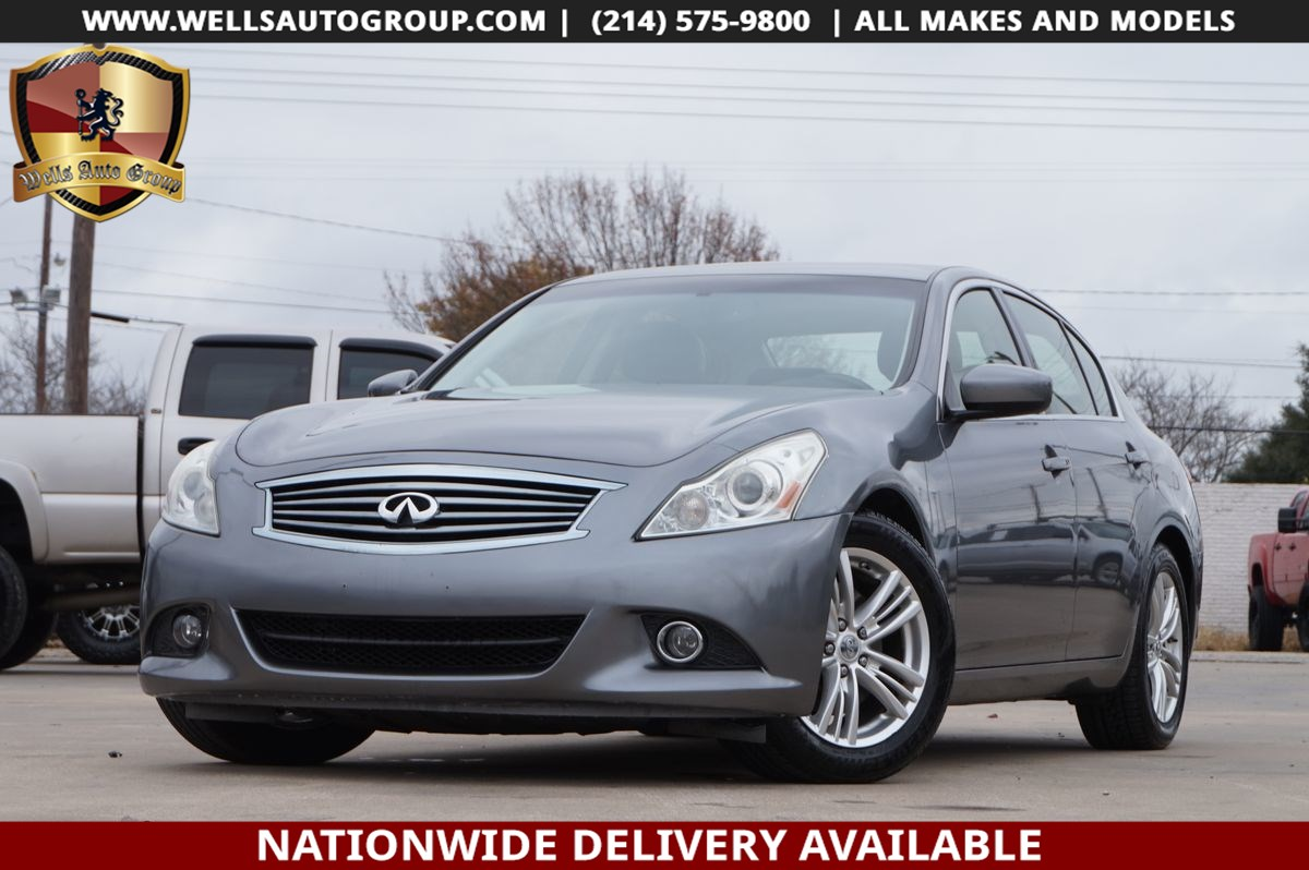 2012 INFINITI G37 Sedan JOURNEY | PREMIUM | NAV | CAM | SUNROOF | $5K OPT