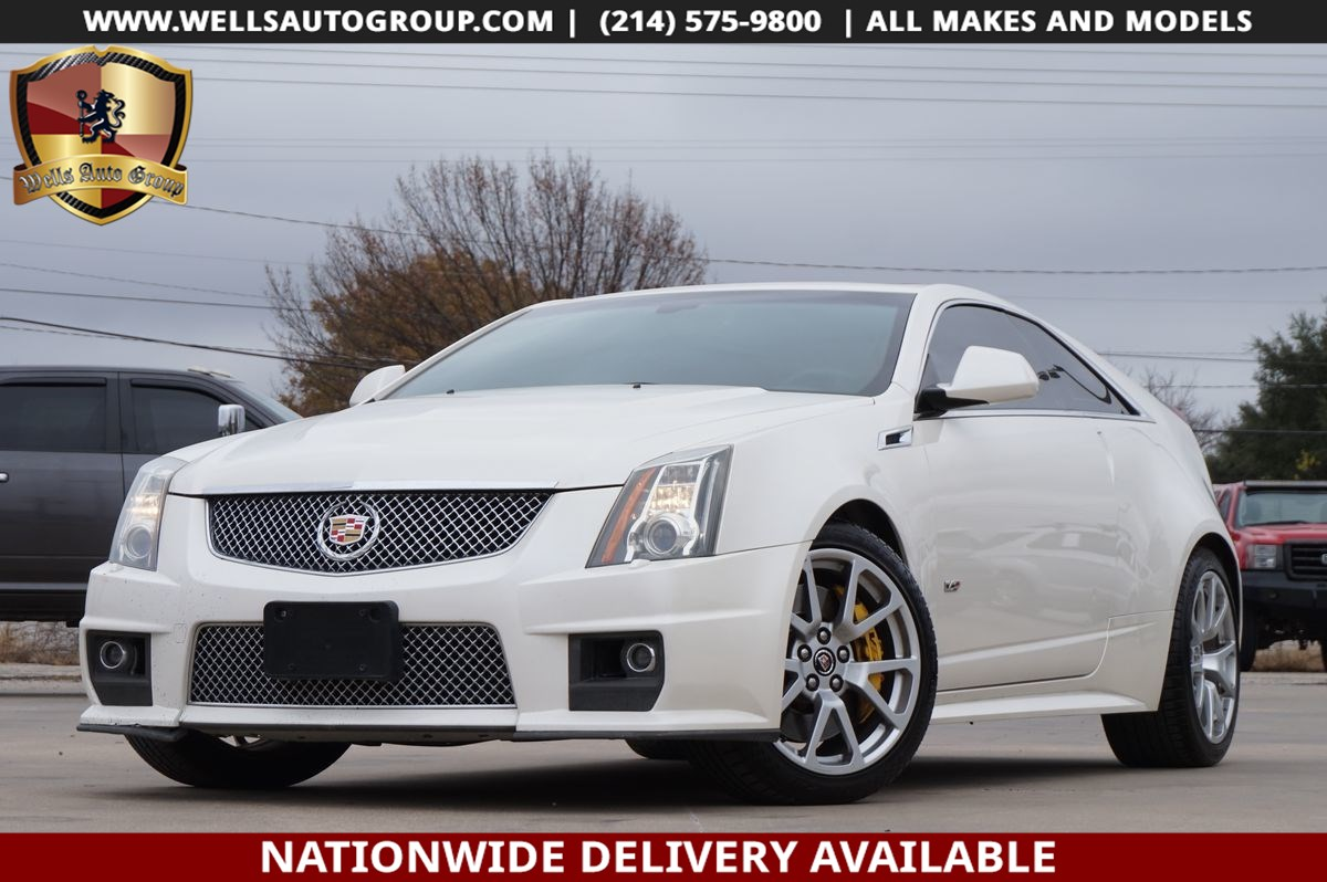 2012 Cadillac CTS-V Coupe | RECARO STS | SUNROOF | NAV | BLND SPOT | $7K OPT
