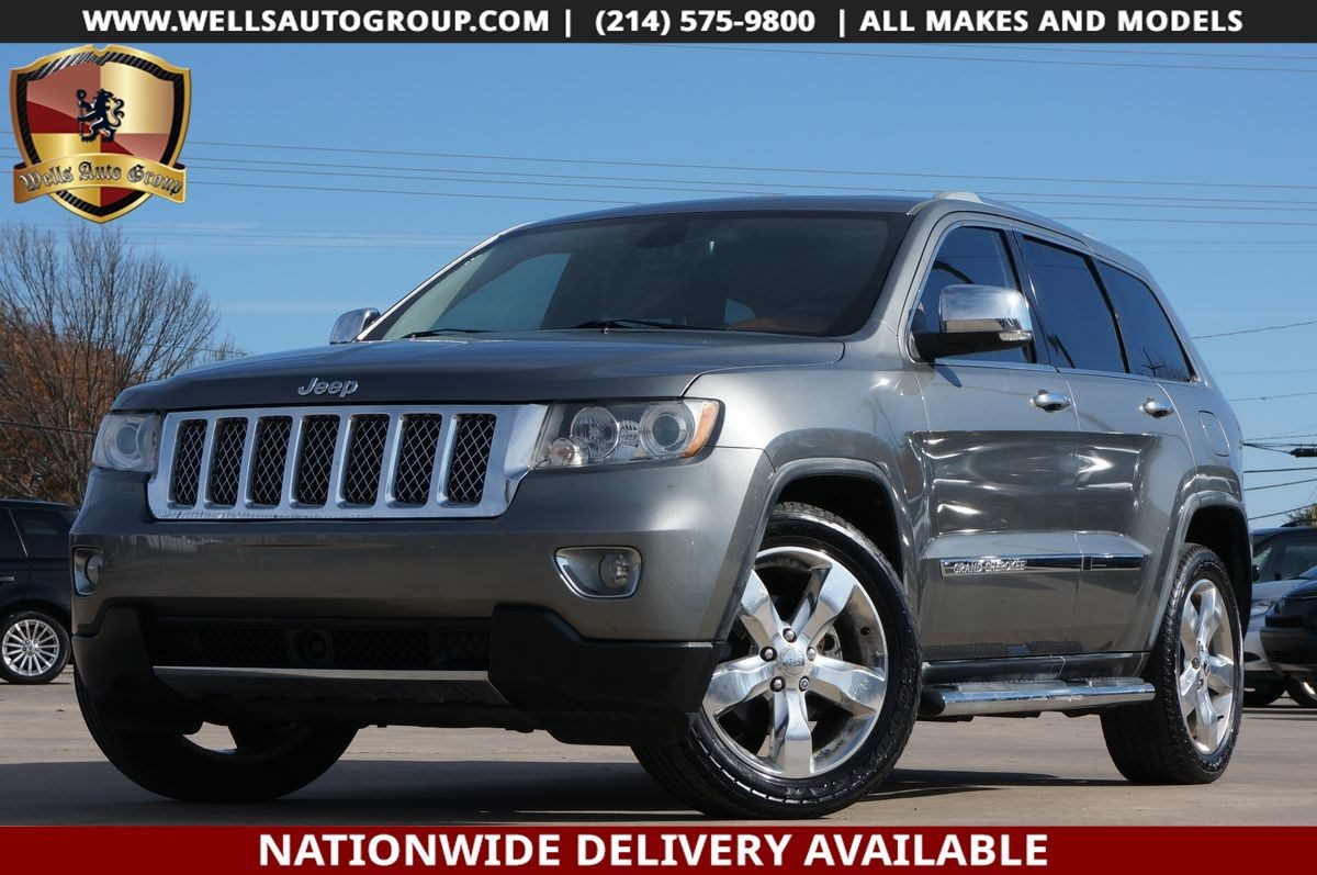 Sold 2011 Jeep Grand Cherokee Overland Summit Chrome Pano Adptv Crus Nav In Mckinney