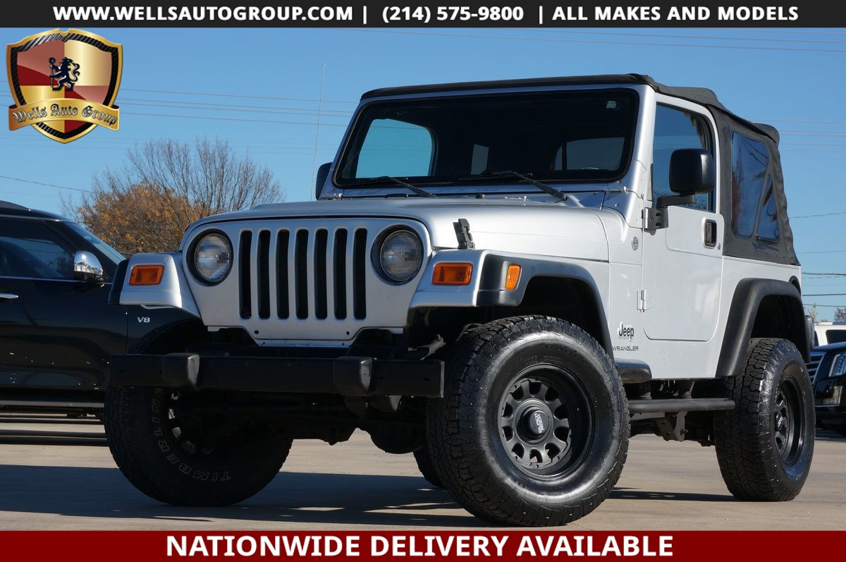 2006 Jeep Wrangler SE 4X4 | LIFT | SOFT TOP | TOW | MANUAL | LOW MILE