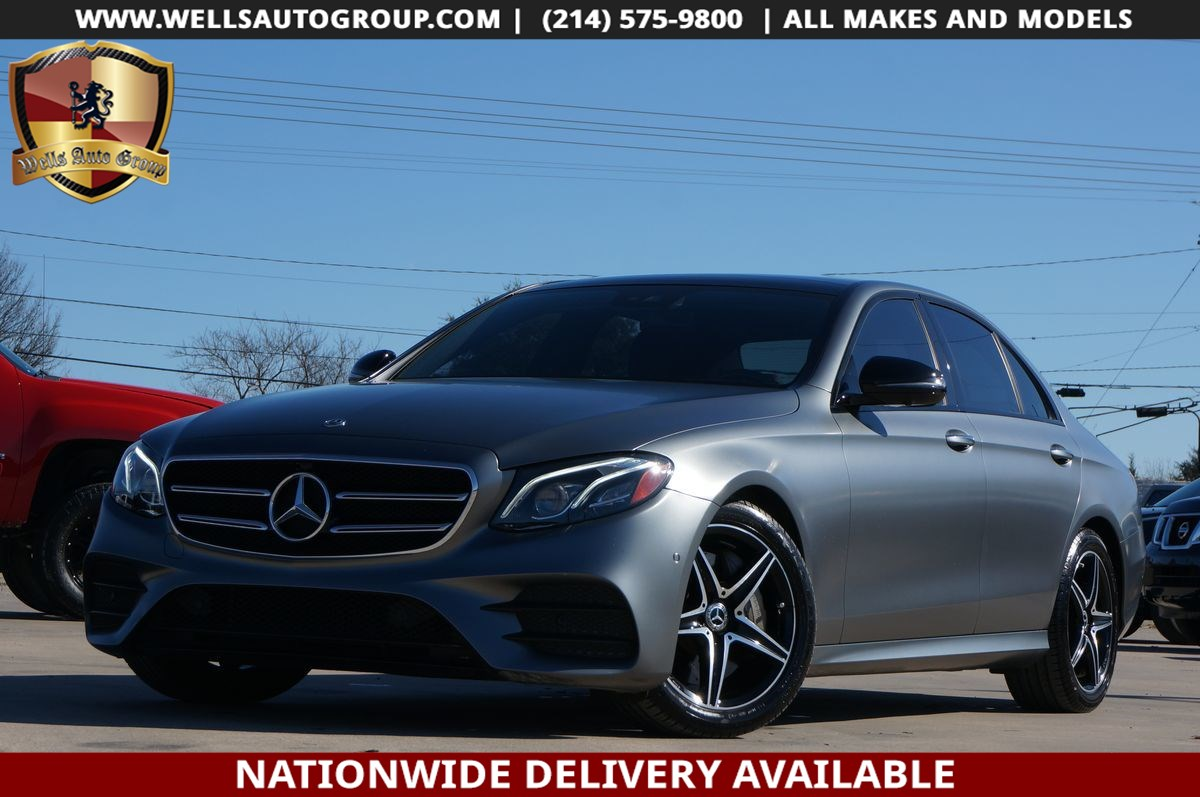 2019 Mercedes-Benz E 300 E 300 | DESIGNO MATTE GREY |AMG| PANO|LTHR|LOADED