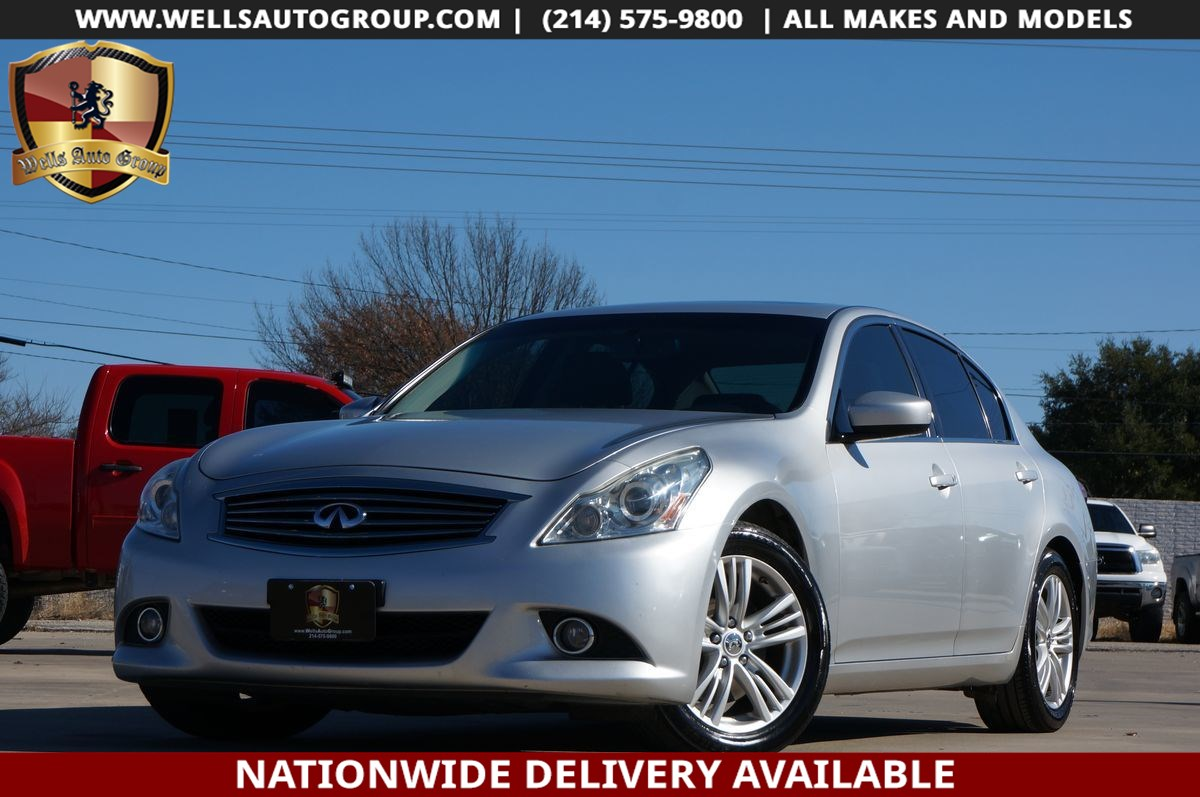 2013 INFINITI G37 Sedan JOURNEY | PREMIUM | NAV | CAM | SUNROOF | $5K OPT