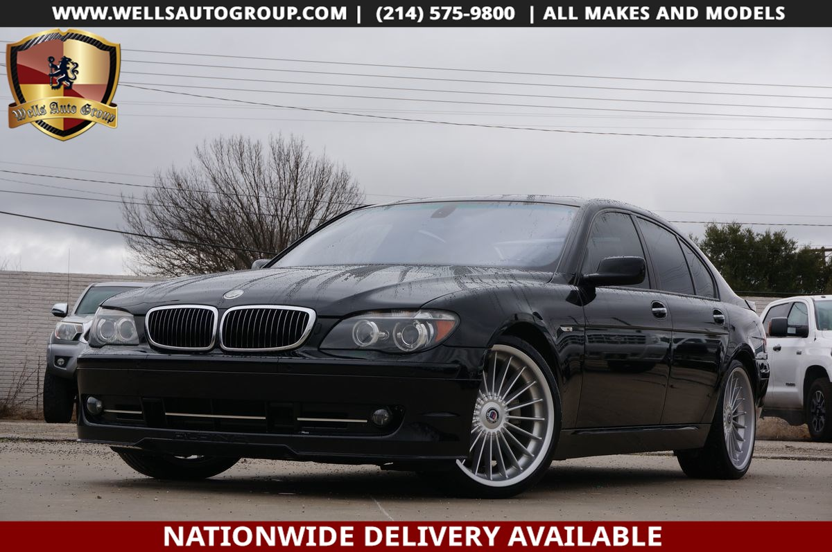 2008 BMW 7 Series ALPINA B7