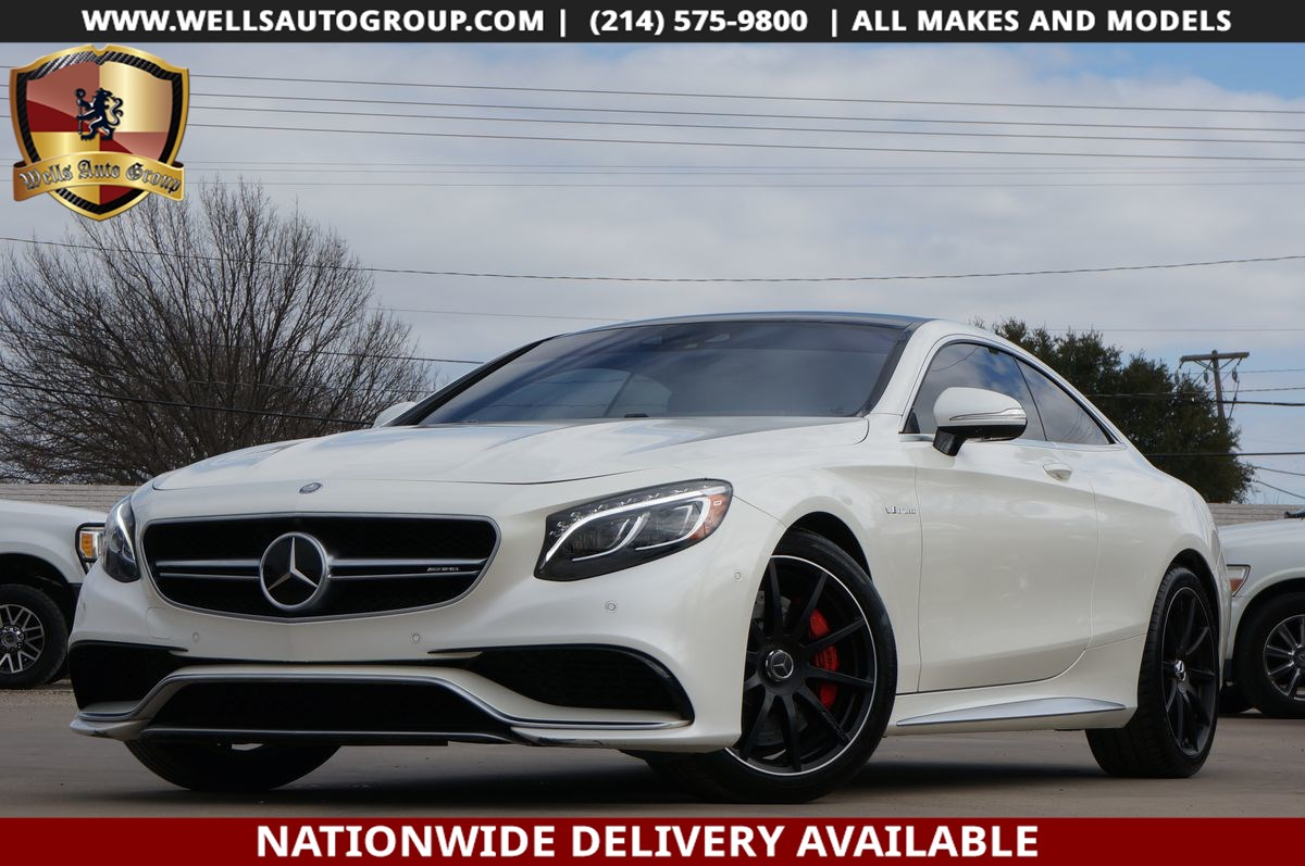 2015 Mercedes-Benz S 63 AMG S 63 AMG