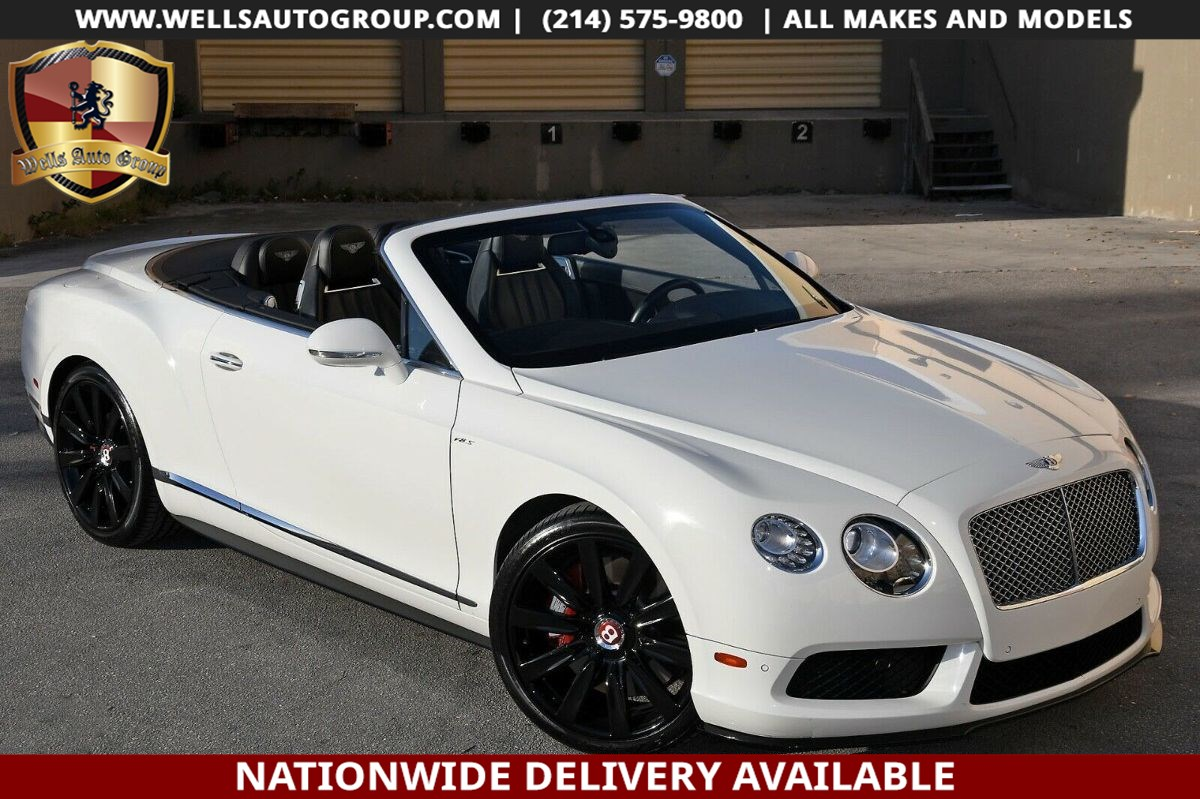 2015 Bentley Continental GT V8 S GT V8 S | DIAMOND STICHING| RED CALIPERS| LOADED