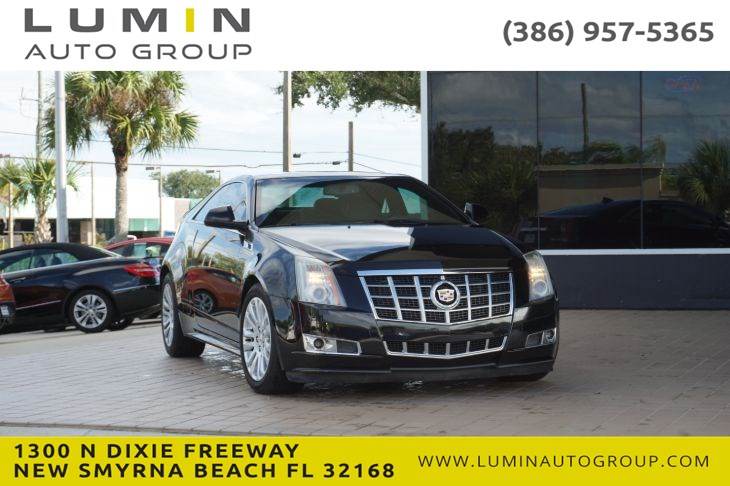 2013 Cadillac CTS Coupe Performance