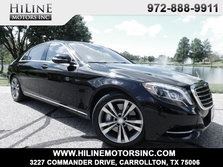 2014 Mercedes-Benz S 550 4MATIC Sedan