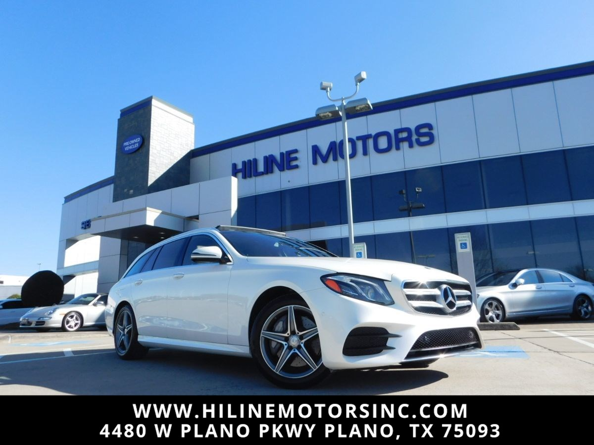 2017 Mercedes-Benz E 400 4MATIC Wagon