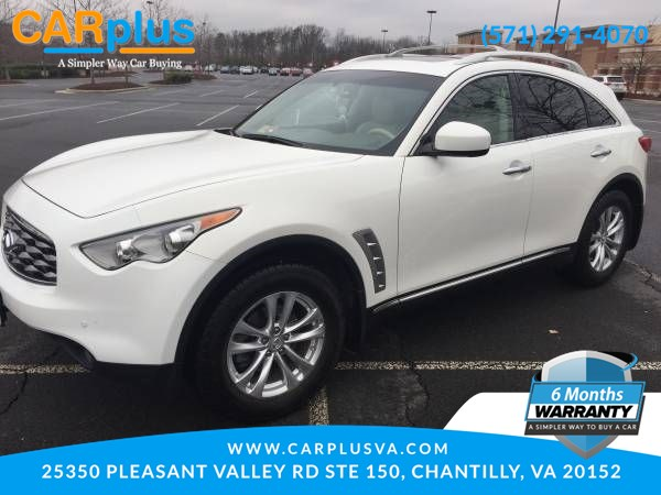 2010 INFINITI FX35 Technology Package