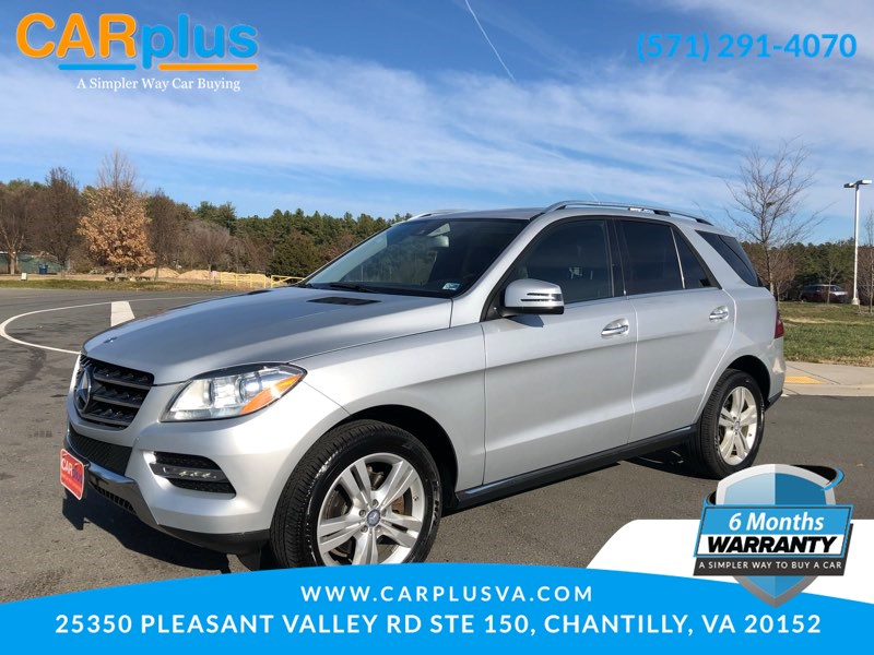 2014 Mercedes-Benz ML 350 SUV