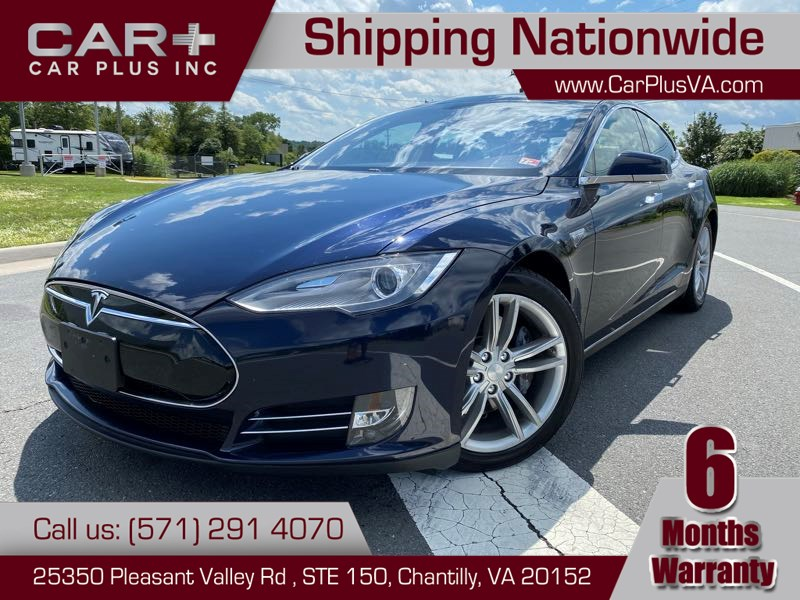 2013 Tesla Model S S85 Sunroof