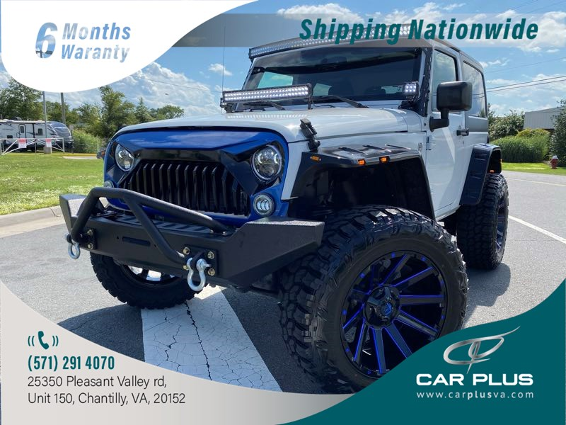 2016 Jeep Wrangler Sport CUSTOM LIFTED