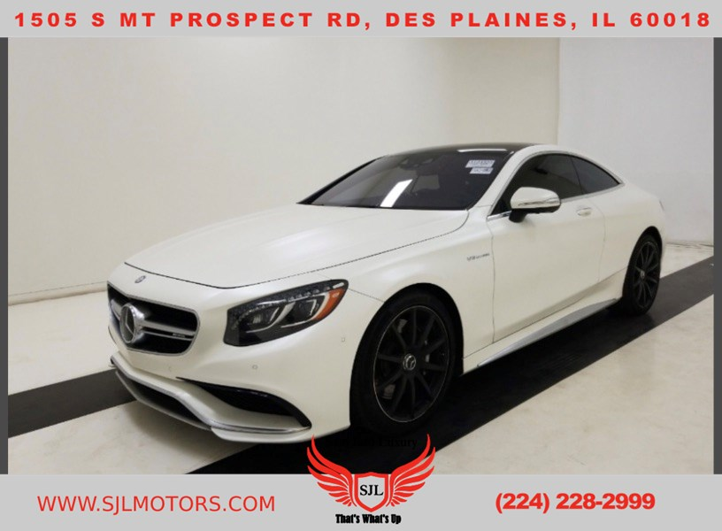 2016 Mercedes-Benz AMG S 63 4MATIC Coupe