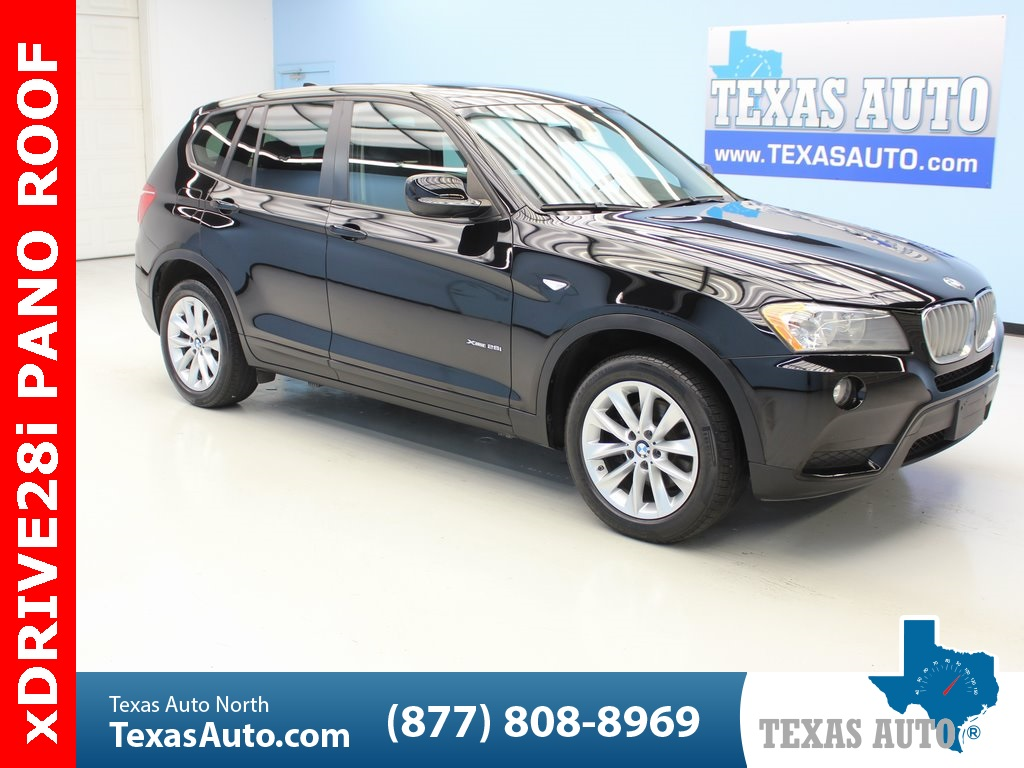 2014 Bmw X3 Xdrive28i Texas Auto South