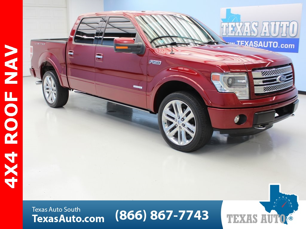 2013 Ford F 150 Limited Texas Auto South