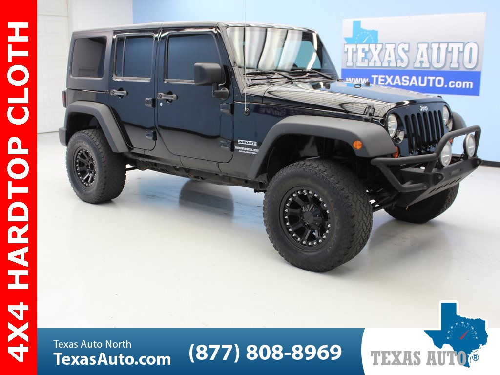 2011 Jeep Wrangler Unlimited Sport - Texas Auto South