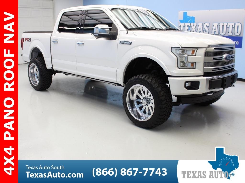 Ford F150 Platinum Lifted >> 2015 Ford F 150 Platinum Texas Auto South