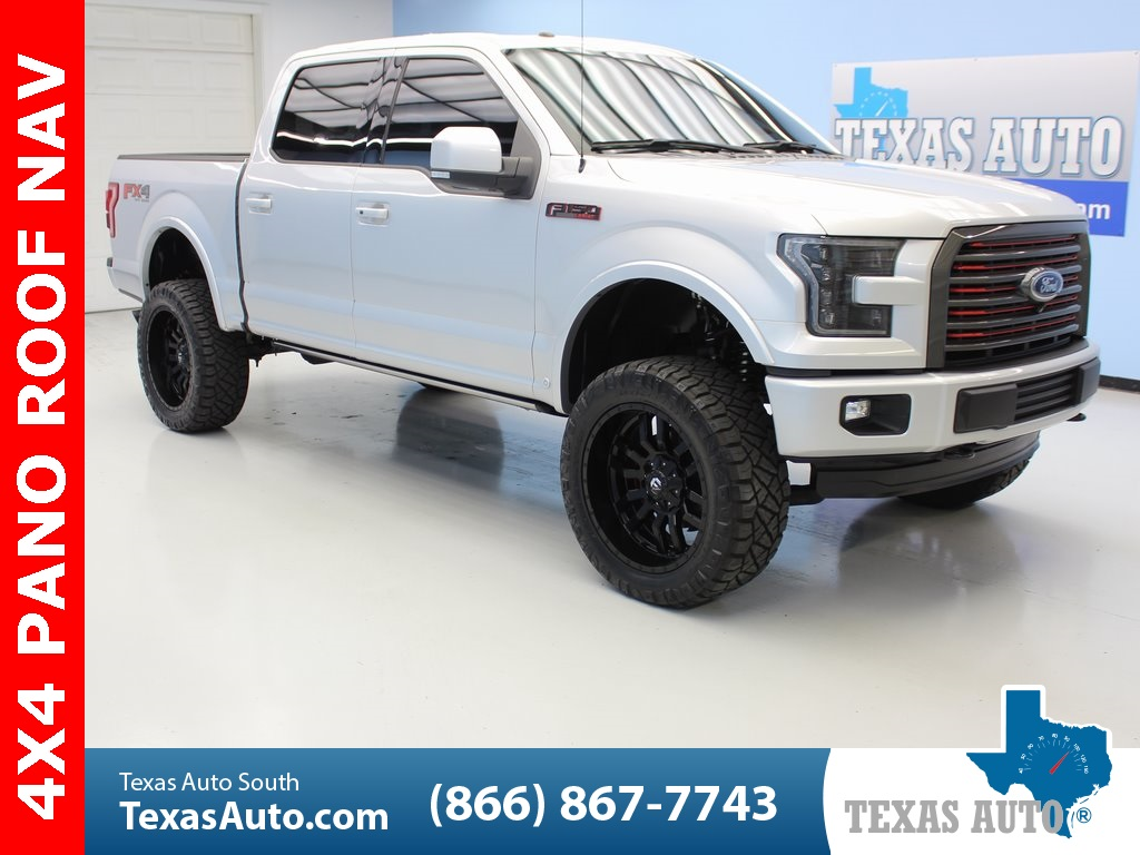 2016 Ford F150 Lifted >> 2016 Ford F 150 Lariat Texas Auto South