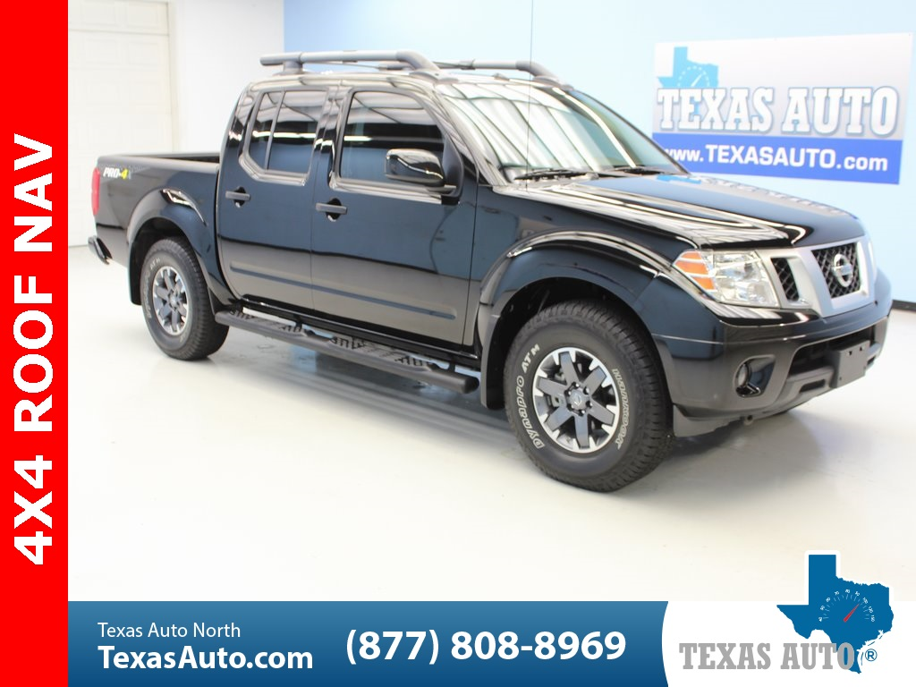 Texas Auto Connection >> 2018 Nissan Frontier Pro Texas Auto South