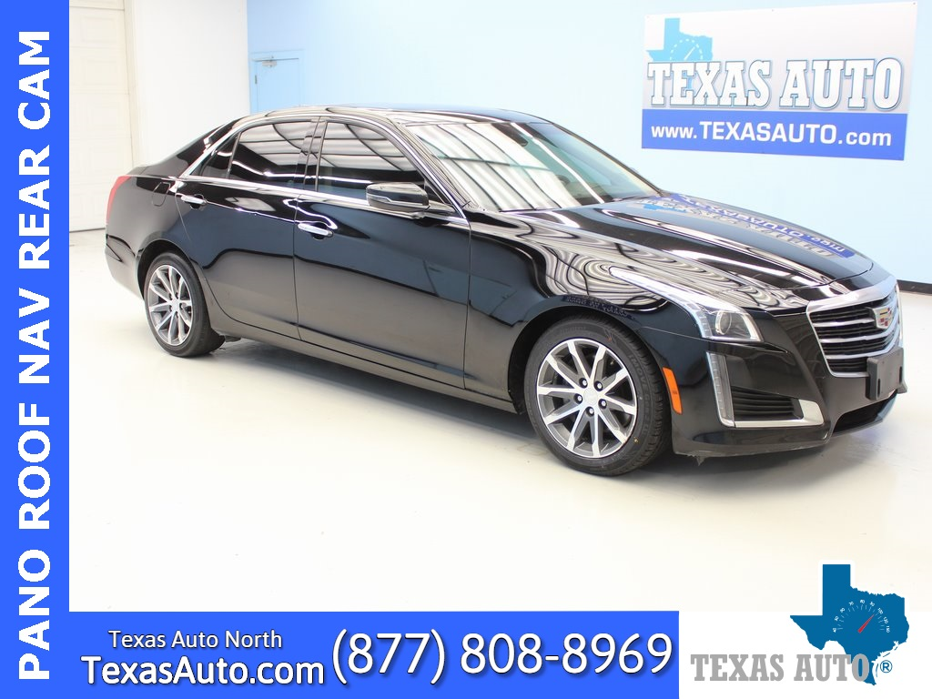 2016 Cadillac CTS 3.6L Luxury PREFERRED-DRIVE AWARNESS-PANO-NAVI