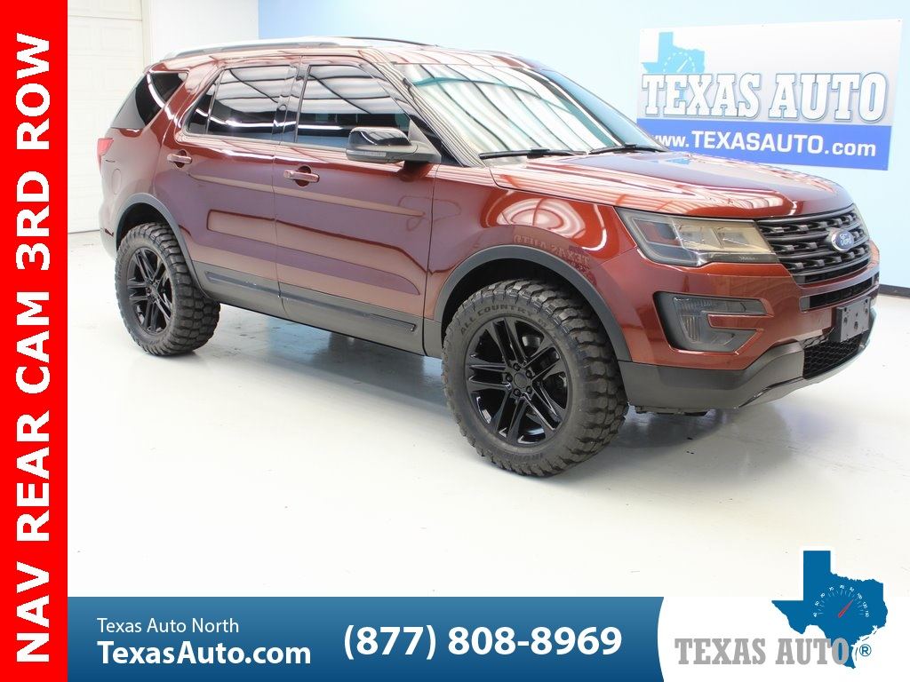 Lifted Ford Explorer >> 2016 Ford Explorer Xlt Texas Auto North
