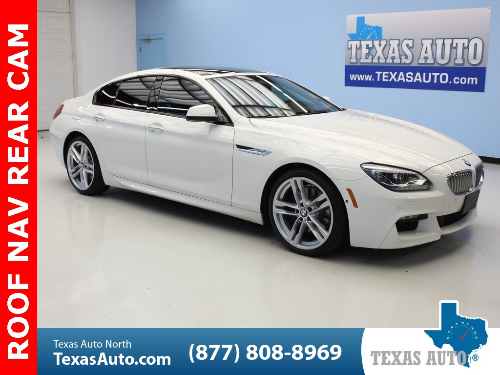 2015 BMW 6 Series 650i Gran Coupe M SPORT EDITION-ROOF-NAVI-REAR CAM