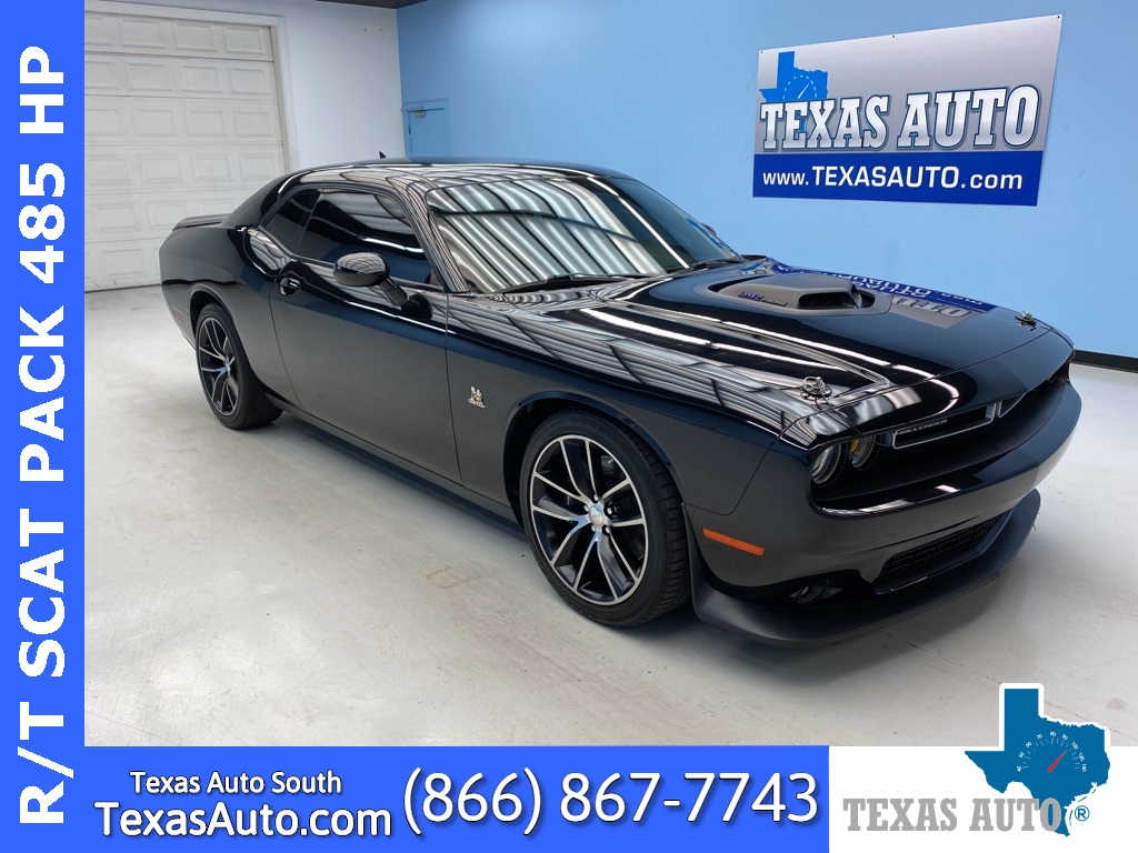 2016 Dodge Challenger R/T Scat Pack SHAKER-REAR CAM-6-SPEED