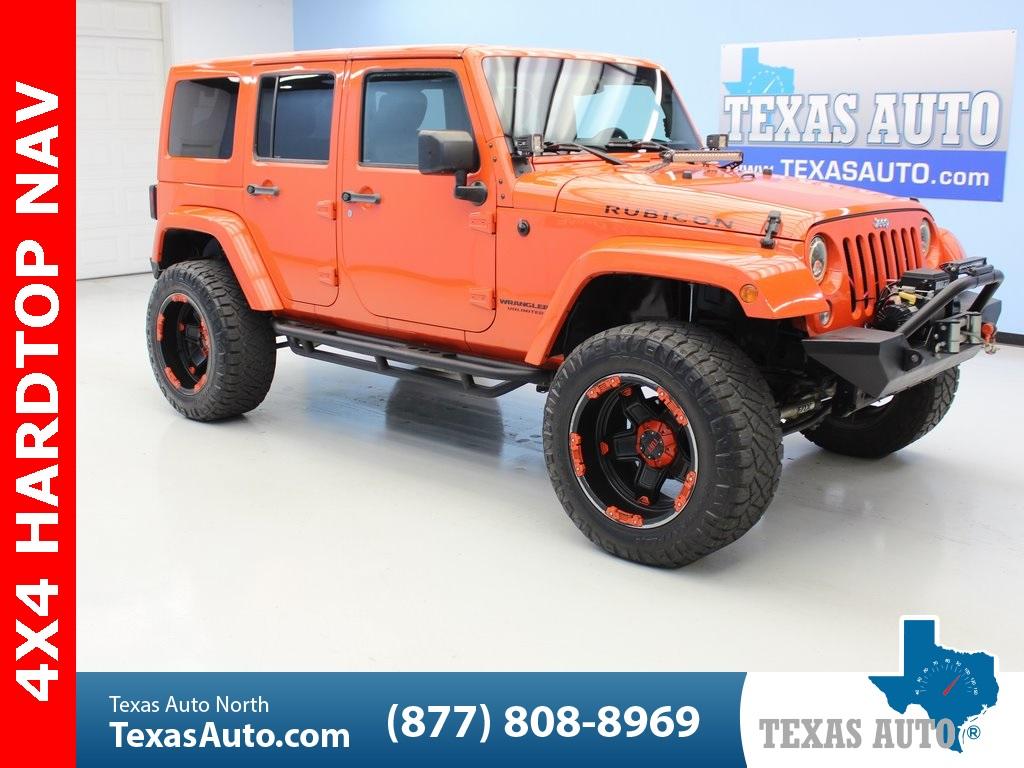 2015 Jeep Wrangler Rubicon >> 2015 Jeep Wrangler Unlimited Rubicon Texas Auto North