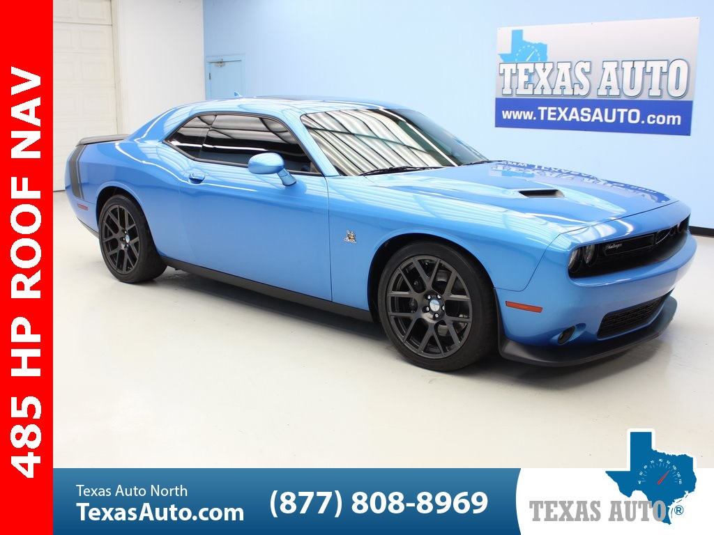 2016 Dodge Challenger R/T Scat Pack NAVI, LEATHER, ROOF