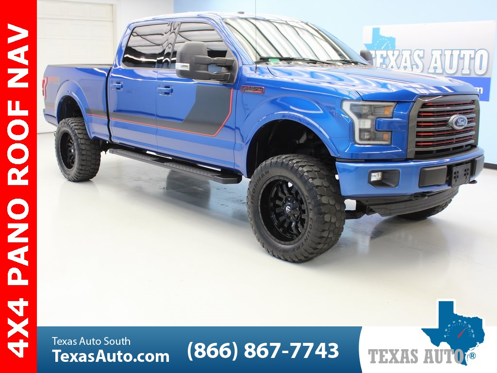 2017 Ford F150 Lifted >> 2017 Ford F 150 Lariat Texas Auto South