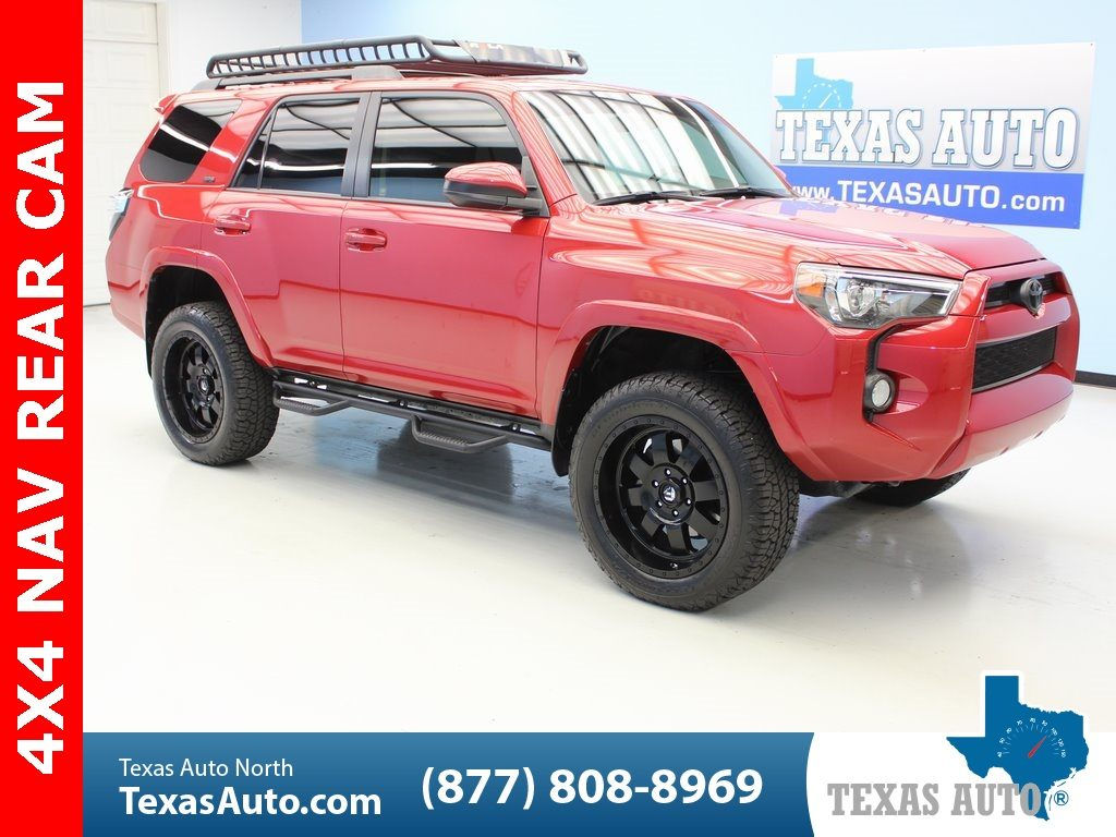 Sold 2016 Toyota 4runner Sr5 Lifted Navi Bluetooth Rear Cam In Houston
