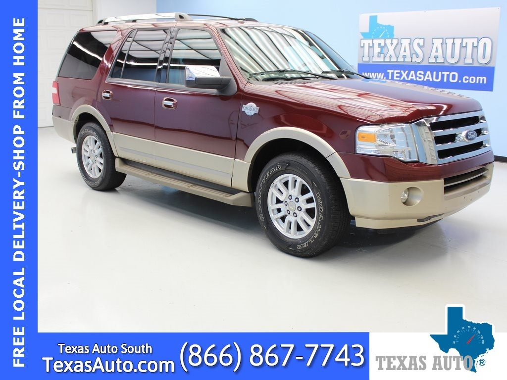 Sold 2013 Ford Expedition King Ranch Leather Roof Dvd 3rd Row In Webster